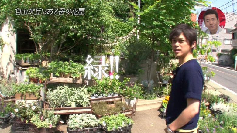 勝地涼さんの母・末子さんは自由が丘の実家近くで花屋を経営しています。