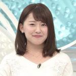 尾崎里紗アナはどれくらい太った?ムチムチの現在と入社時を比較!